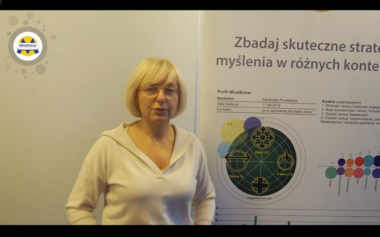 Współzałożycielka i Prezes Neuroedukacji Iza Rudzińska mówi o MindSonar