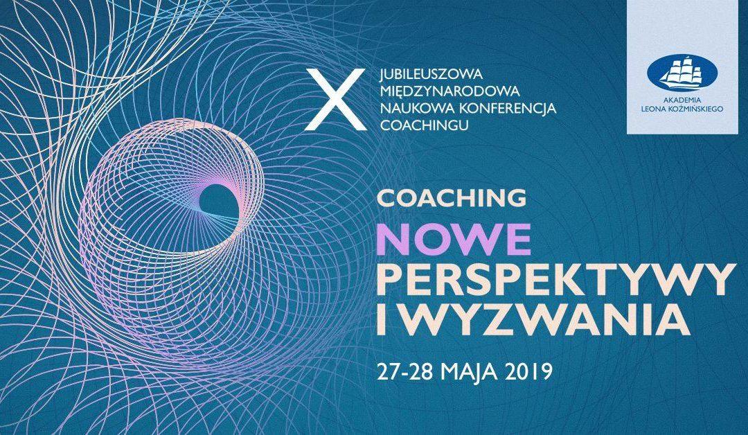 Z dumą informujemy, że MindSonar jest partnerem X jubileuszowej międzynarodowej naukowej konferencji coachingu