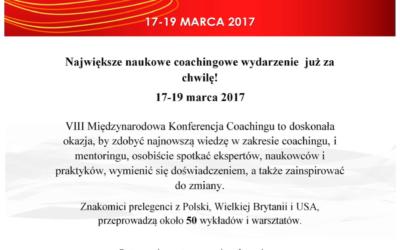 MindSonar partnerem VIII Międzynarodowej Naukowej Konferencji Coachingu